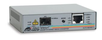 Медиаконвертер Allied Telesis 1000Base-T-1000Base-X RJ-45-SFP AT-MC1008/SP-YY