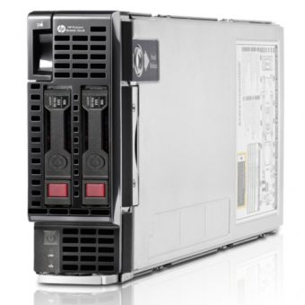 "Сервер HP Enterprise ProLiant BL460c Gen8 ( 2xIntel Xeon E5 2670 8x8ГБ  2.5"" ) 666157-B21 - фото 1"
