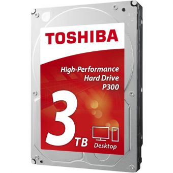 "Диск HDD  Toshiba - P300, for Desktop, SATA III (6Gb/s), 3.5"", 3TB, 7K, 64MB, HDWD130UZSVA"
