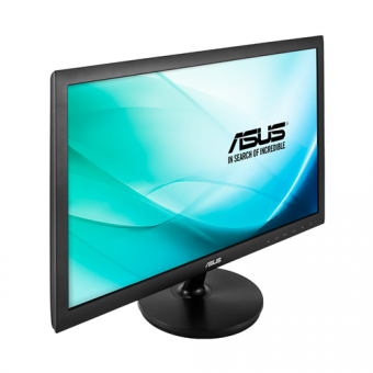 "Монитор Asus - VS247NR, 23.6"", 16:9, LED, TN, 5ms, 250cd/m², 1920x1080 (Full HD), 76Hz, VGA, 1x DVI, цвет Чёрный, VS247NR - фото 1"
