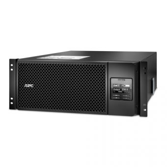 ИБП APC by Schneider Electric - Smart-UPS SRT, 6000VA/6000W, On-Line, in (230V IEC-309 1P+N+E ), out (6xIEC-C320 C13 4xIEC-C320 C19), Hot Swap User Replaceable Batteries , LCD , Rack/Tower, 4U, RM, цвет Чёрный, SRT6KRMXLI - фото 1