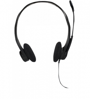 Гарнитура Logitech PC Headset 860 Чёрный 981-000094 - фото 1