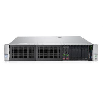 "Сервер HP Enterprise - ProLiant DL380 Gen9, 1xIntel Xeon E5 2630v3 2400MHz, DIMM DDR4 2x16GB, 8xSFF, SAS 2.5"" 2x300GB, Smart Array P440ar, 4x1GbE, noDVD, 1x500W, Rack, 2U, P9H92A - фото 1"