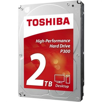 "Диск HDD  Toshiba - P300, for Desktop, SATA III (6Gb/s), 3.5"", 2TB, 7K, 64MB, HDWD120UZSVA"