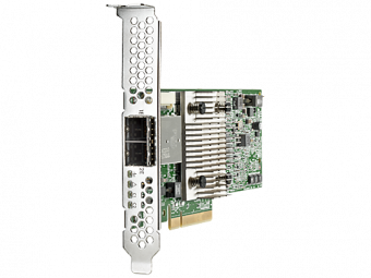 Адаптер главной шины HP Enterprise H241 Smart Host Bus Adapter SAS-3 12 Гб/с Low Profile 726911-B21