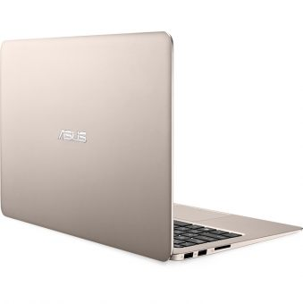 "Ультрабук Asus ZenBook UX305UA-FC048R - 13.3"", 1920x1080 (Full HD), Intel Core i5 6200U 2300MHz, On board DDR3 8GB, SSD 512GB, Intel HD Graphics 520, Bluetooth, Wi-Fi, noDVD, Золотистый, Windows 10 Pro 64, 90NB0AB5-M02950 - фото 1"