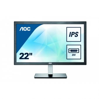 "Монитор AOC - I2276VW, 21.5"", 16:9, LED, IPS, 5ms, 250cd/m², 1000:1, 1920x1080 (Full HD), Чёрный, I2276VW - фото 1"