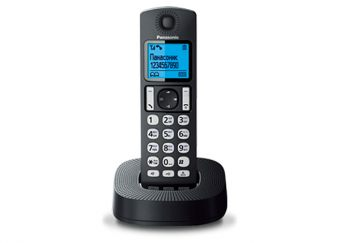 DECT-телефон Panasonic - KX-TGC310RU, standby time 200h, talk time 16h, 1-handset, phone book 50 numbers, search handset, Чёрный, KX-TGC310RU1