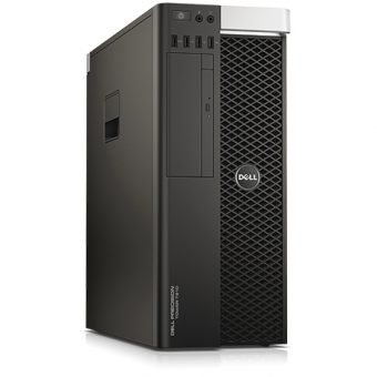 Рабочая станция Dell - Precision T7810, Intel Xeon E5 2630v3 2400MHz, DIMM DDR4 32GB, 500GB + 256GB, nVidia Quadro M4000 8GB, noDVD, Чёрный, Windows 7 Professional 64 + Windows 10 Pro 64, 7810-0526 - фото 1
