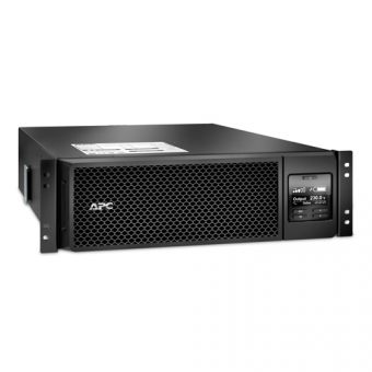 ИБП APC by Schneider Electric - Smart-UPS SRT, 5000VA/4500W, On-Line, in (230V IEC-309 1P+N+E ), out (6xIEC-C320 C13 4xIEC-C320 C19), Hot Swap User Replaceable Batteries , LCD , Rack/Tower, 3U, RM, цвет Чёрный, SRT5KRMXLI - фото 1