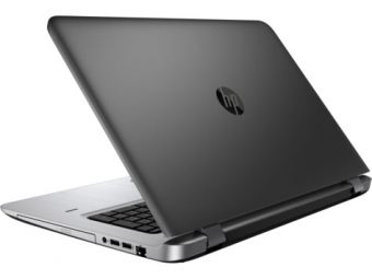 "Ноутбук HP ProBook 470 G3 - 17.3"", 1920x1080 (Full HD), Intel Core i5 6200U 2300MHz, SODIMM DDR3L 4GB, HDD 500GB, Intel HD Graphics 520, Bluetooth, Wi-Fi, noDVD, 4cell, Чёрный, Windows 10 Home 64, P5S74EA - фото 1"