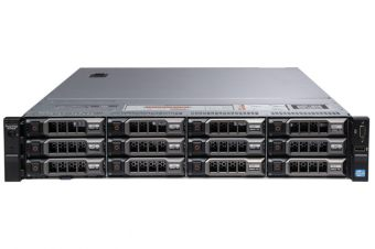 "Сервер Dell PowerEdge R720XD ( 2xIntel Xeon E5 2695v2 24x8ГБ  3.5"" 4x3TB ) 210-ABMY-116 - фото 1"