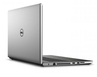 "Ноутбук Dell Inspiron 5759 - 17.3"", 1920x1080 (Full HD), Intel Core i5 6200U 2300MHz, SODIMM DDR3 8GB, HDD 1TB, AMD Radeon R5 M335 4GB, Bluetooth, Wi-Fi, DVD-RW, 4cell, Серебристый, Linux, 5759-8247 - фото 1"