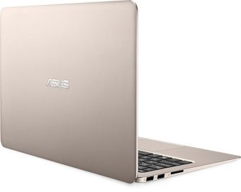 "Ультрабук Asus Zenbook UX305CA-FC051R - 13.3"", 1920x1080 (Full HD), Intel Core M3 6Y30 900MHz, On board DDR3 4GB, SSD 128GB, Intel HD Graphics 515, Bluetooth, Wi-Fi, noDVD, Золотистый, Windows 10 Pro 64, 90NB0AA5-M06170 - фото 1"