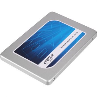 "Диск SSD Crucial - BX100, for Desktop, 2.5"", 120GB, SATA III (6Gb/s), speed write-185MB/s read-535MB/s, MLC, CT120BX100SSD1"