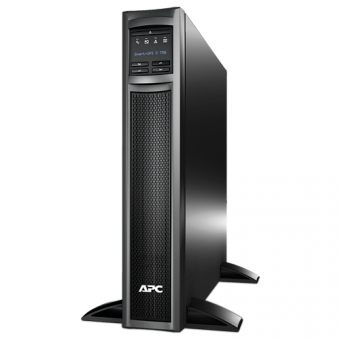 ИБП APC by Schneider Electric - Smart-UPS X, 750VA/600W, Line-Interactive, in (230V 1xIEC-320 C14), out (8xIEC-C320 C13), Hot Swap User Replaceable Batteries , LCD , Rack/Tower, 2U, RM, цвет Чёрный, SMX750I - фото 1