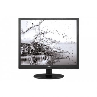 "Монитор AOC - I960SRDA, 19"", 5:4, LED, IPS, 5ms, 250cd/m², 1000:1, 1280x1024 (SXGA), 76Hz, VGA, 1x DVI, speakers, цвет Чёрный, I960SRDA - фото 1"