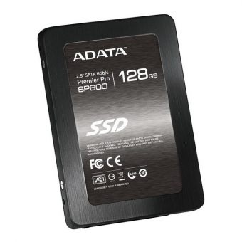 "Диск SSD ADATA - SP600, for Mobile, 2.5"", 128GB, SATA III (6Gb/s), speed write-150MB/s read-530MB/s, MLC, JMicron JMF661/JMF667H, ASP600S3-128GM-C"