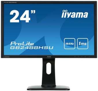 "item-slider-more-photo-Фото Монитор Iiyama GB2488HSU 24"" LED TN Чёрный, GB2488HSU-B1 - фото 1"