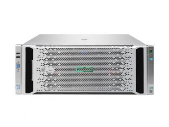 Сервер HP Enterprise - ProLiant DL580 Gen9, 4xIntel Xeon E7 8893v4 3200MHz, DIMM DDR4 REG 16x16GB, 5xSFF, Smart Array P830i, 2xSFP+, noDVD, 4x1500W, Rack, 4U, 816814-B21 - фото 1