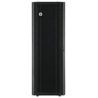 Напольный шкаф HP Enterprise - Advanced, 36U, глубина-1075мм, ширина-600мм, Перфорированная дверь, Нет стенок, max-1360кг, цвет Чёрный, H6J77A