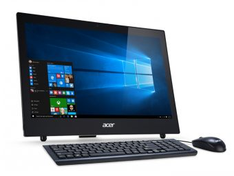 "Моноблок Acer Z1-602 18.5"" Intel Celeron N3050 1x4GB 500GB Intel HD Graphics FreeDOS DQ.B33ER.002 - фото 1"