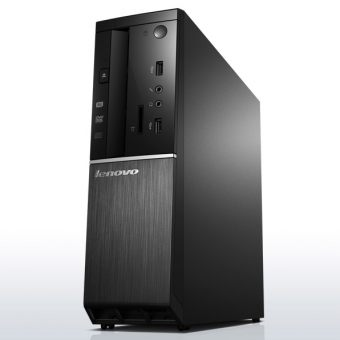 "Настольный компьютер Lenovo - IdeaCentre 510S-08ISH, Intel Core i3 6100 3700MHz, DIMM DDR4 4GB, SATA III (6Gb/s) 3.5"" 500GB, Intel HD Graphics 530, DVD-RW, Чёрный, FreeDOS, 90FN005HRS - фото 1"