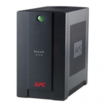 ИБП APC by Schneider Electric Back-UPS 650VA/390W 230V Line-Interactive  Tower  BX650CI-RS - фото 1