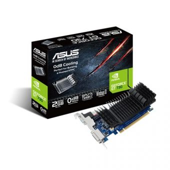 Видеокарта Asus nVidia GeForce GT 730 GDDR5 2GB GT730-SL-2GD5-BRK - фото 1