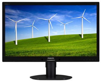 "Монитор Philips 241B4LPYCB 24"" LED TN 250кд/м² 1920x1080 (Full HD) Чёрный 241B4LPYCB/00 - фото 1"
