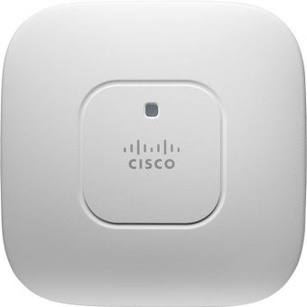 Точка доступа Cisco - Aironet 2600, 2.4/5 ГГц, 450Mb/s, IEEE 802.11 b/g/n, WPA2, WPA, web interface, AIR-CAP2602I-R-K9