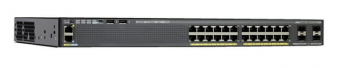 Коммутатор  Управляемый Cisco - WS-C2960XR-24TS-I, Layer 2, 24-1GbE, 4-SFP, ROM-128MB, RAM-512MB, IP Lite, SNMP, telnet, CLI, rack mount, Серый, WS-C2960XR-24TS-I