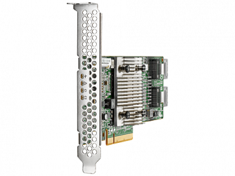 Адаптер главной шины HP Enterprise - H240 Smart Host Bus Adapter, SAS-3 12 Гб/с, PCI Express 3.0 x8, 2х internal, Low Profile, 726907-B21