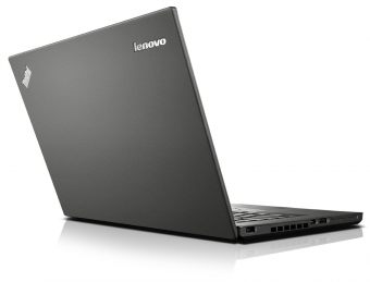 "Ультрабук Lenovo ThinkPad T450 14"" 1600x900 (HD+) Intel Core i5 5200U 8 ГБ Hybrid 500GB + 8GB Intel HD Graphics 5500 Windows 7 Professional 64 + Windows 8.1 Pro 64, 20BV002HRT - фото 1"