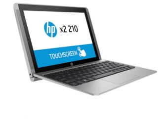 "Планшет с клавиатурой HP x2 210 10.1"" 1280x800 (WXGA) Intel Atom Z8300 2 ГБ SSD 64GB Intel HD Graphics TouchScreen Windows 10 Home 64, L5G95EA - фото 1"