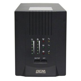 ИБП Powercom SMART KING PRO+ 1500VA/1050W 230V Line-Interactive Hot Swap User Replaceable Batteries  Tower  SPT-1500VA - фото 1