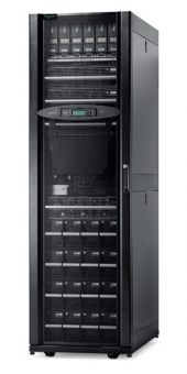 ИБП APC by Schneider Electric - Symmetra PX, 32000VA/32000W, On-Line, in (400V 3PH IEC-309 3P+N+E), LCD , Tower, цвет Чёрный, SY32K48H-PD - фото 1