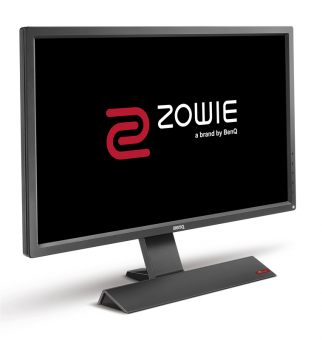 "Монитор Benq - RL2755, 27"", 16:9, LED, TN, 2ms, 300cd/m², 1000:1, 1920x1080 (Full HD), 76Hz, VGA, 1x DVI, 2x HDMI, speakers, цвет Серый, 9H.LF2LB.QBE - фото 1"