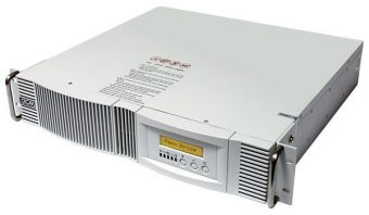 ИБП Powercom - Vanguard RM, 700VA/490W, On-Line, in (230V 1xIEC-320 C14), out (4xIEC-C320 C13), Hot Swap User Replaceable Batteries , LCD , Rack, 2U, RM, VGD-700-RM - фото 1
