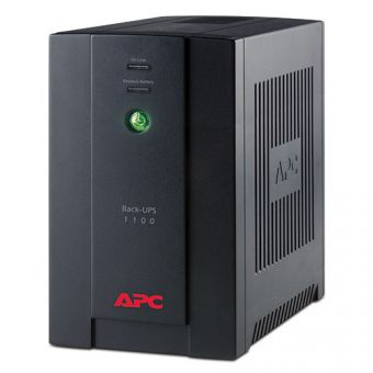 ИБП APC by Schneider Electric Back-UPS 1100VA/660W 230V Line-Interactive  Tower  BX1100CI-RS - фото 1
