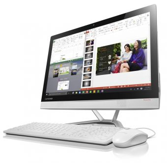 "Моноблок Lenovo IdeaCenter AIO 300-23ISU 23"" Intel Core i3 6100U 1x4GB 500GB Intel HD Graphics 520 FreeDOS F0BY001QRK - фото 1"