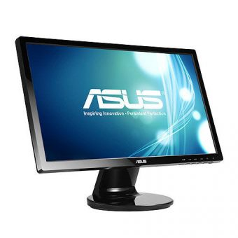 "Монитор Asus - VE228TR, 21.5"", 16:9, LED, TN, 5ms, 250cd/m², 1920x1080 (Full HD), 76Hz, VGA, 1x DVI, speakers, цвет Чёрный, VE228TR - фото 1"