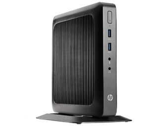 Тонкий клиент HP - t520, AMD G-Series GX-212JC 1200MHz, SODIMM DDR3L 4GB, 8GB, AMD Radeon HD, noDVD, Чёрный, HP Smart Zero 32, G9F02AA - фото 1