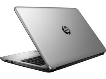 "Ноутбук HP 255 G5 - 15.6"", 1920x1080 (Full HD), AMD A6 7310 2000MHz, SODIMM DDR3L 4GB, HDD 500GB, AMD Radeon R4, Bluetooth, Wi-Fi, DVD-RW, 3cell, Серебристый, FreeDOS, W4M47EA - фото 1"