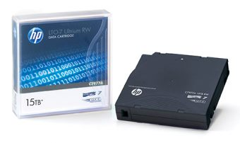 Лента HP Enterprise, LTO-7, 6000/15000GB, read speed 700MB/s, labeled, 20-pack, C7977AN