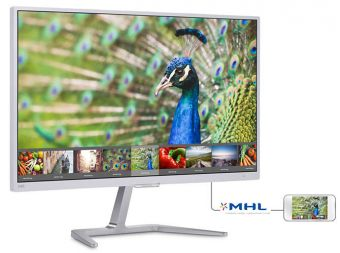 "item-slider-more-photo-Фото Монитор Philips 246E7QDSW 23.6"" LED PLS Белый, 246E7QDSW/00 - фото 1"