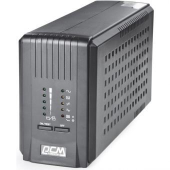 ИБП Powercom - Smart King Pro, 700VA/420W, Line-Interactive, in (230V 1xIEC-320 C14), out (5xIEC-C320 C13), Hot Swap User Replaceable Batteries , Tower, SKP-700A - фото 1