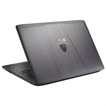"Игровой ноутбук Asus GL552VX-DM248T - 15.6"", 1920x1080 (Full HD), Intel Core i5 6300HQ 2300MHz, SODIMM DDR4 8GB, HDD 1TB, nVidia GeForce GTX 950M GDDR5 2GB, Wi-Fi, DVD-RW, 4cell, Стальной, Windows 10 Home 64, 90NB0AW3-M02980 - фото 1"