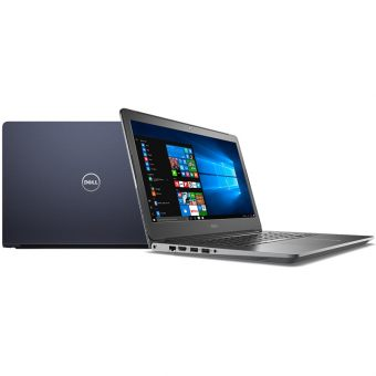 "Ноутбук Dell Vostro 5468 - 14"", 1366x768 (WXGA), Intel Core i5 7200U 2500MHz, SODIMM DDR4 4GB, HDD 500GB, Intel HD Graphics 620, Bluetooth, Wi-Fi, noDVD, 3cell, Синий, Windows 10 Home 64, 5468-2822 - фото 1"
