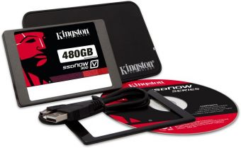 "Диск SSD Kingston SSDNow V300 2.5"" 480GB SATA III (6Gb/s) SV300S3N7A/480G"